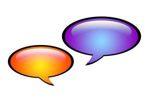 1023628 dialog bubble Língua estrangeira aprendida na infância jamais é esquecida