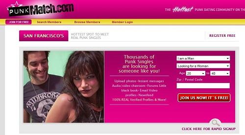 punk online dating oase dating mobil app til blackberry