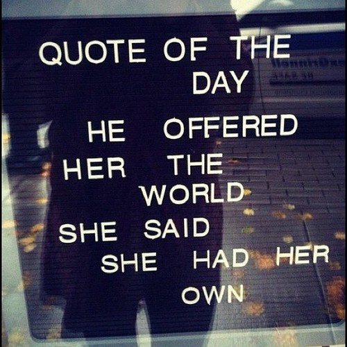 POETRY U0026 QUOTES BIRD GEI | Consultoria E Gestão De Idiomas, Quote Of The  Day: He Offered Her The World Leave A Comment