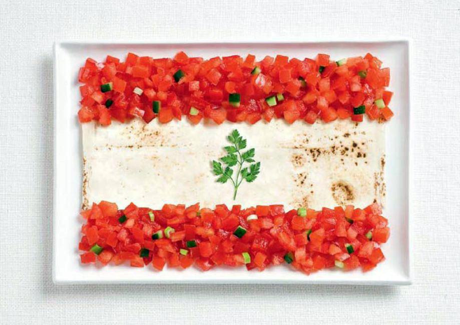 LEBANON – Lavash, fattoush, herb spring