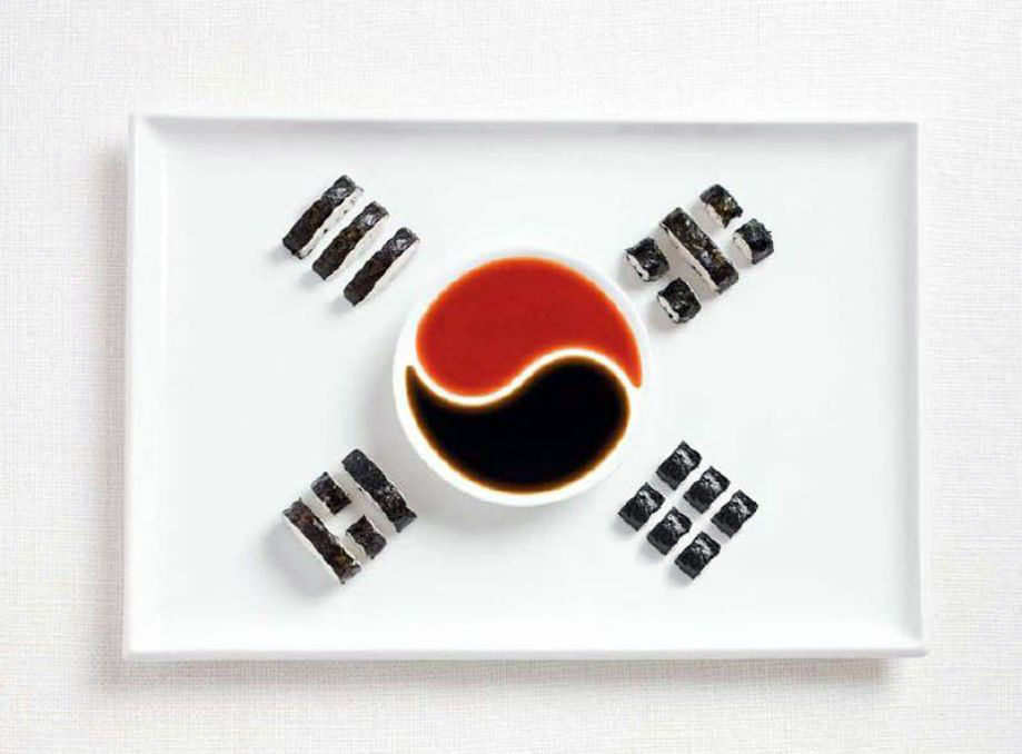SOUTH KOREA – Kimbap and sauces