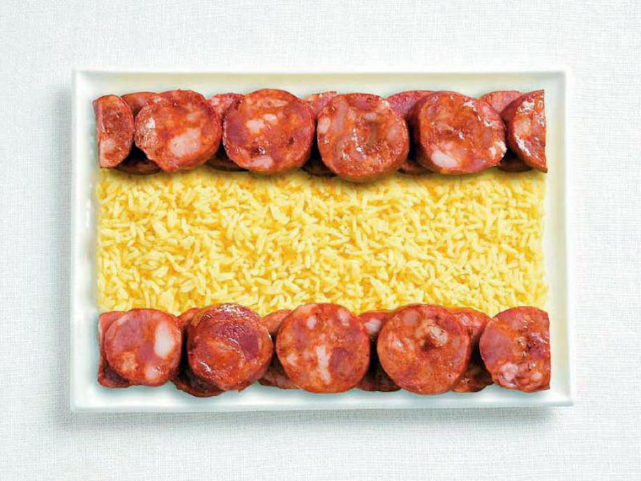 SPAIN – Chorizo and rice