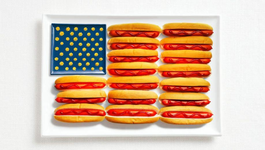 UNITED STATES – Hot dogs, ketchup and mustard