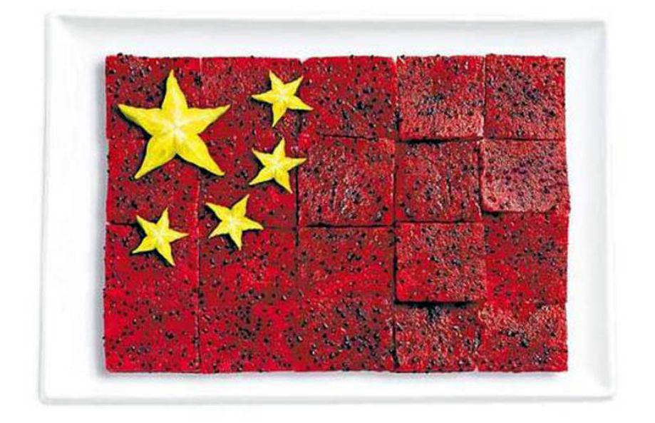 CHINA – Pittaya/dragon fruit and star fruit