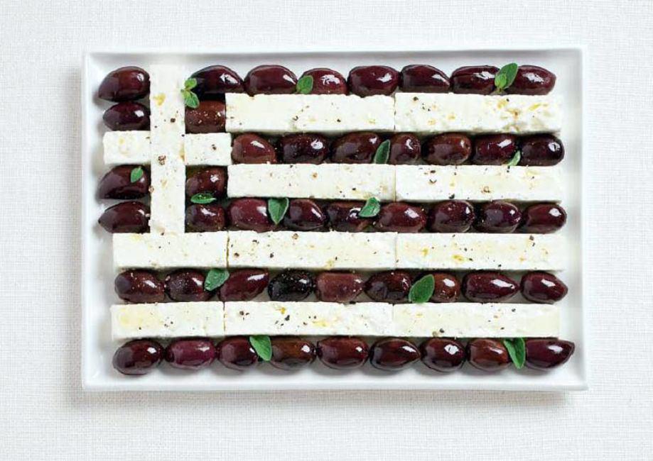 GREECE – Kalamata olives and feta cheese