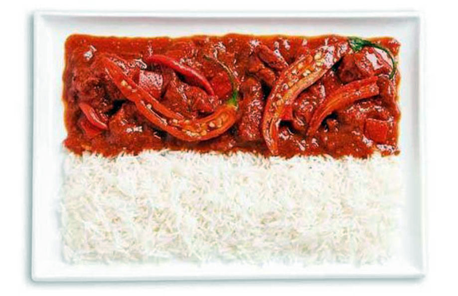 INDONESIA – Spicy curries and rice (Sambal)