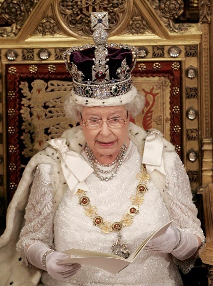 Queen Elizabeth II revokes independence of the United States of America