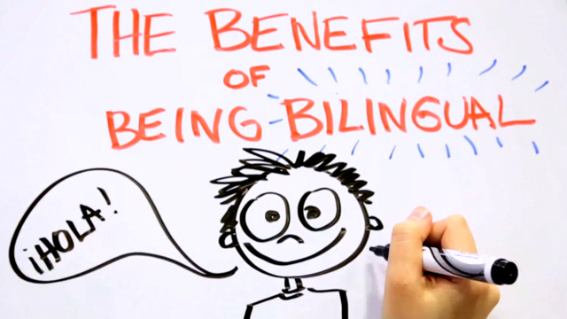 The benefits of a bilingual brain - Mia Nacamulli - YouTube