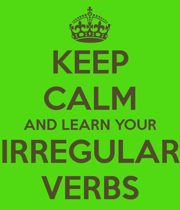 Image result for irregular verbs